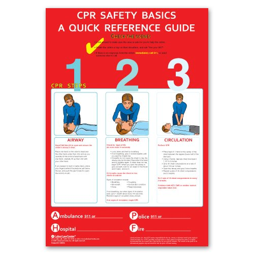 Cpr Poster - Laminated