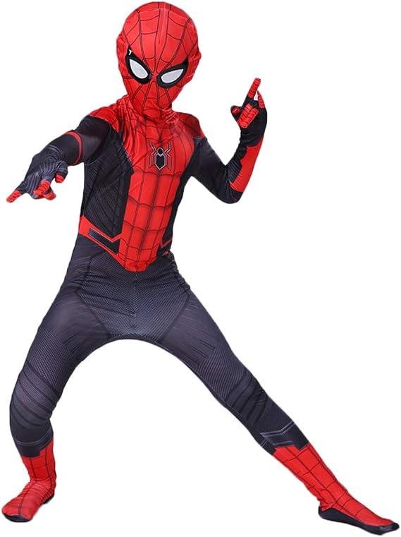 CAKGER Superhéroe Spiderman Hijos Adultos Traje de Retorno Neutro ...