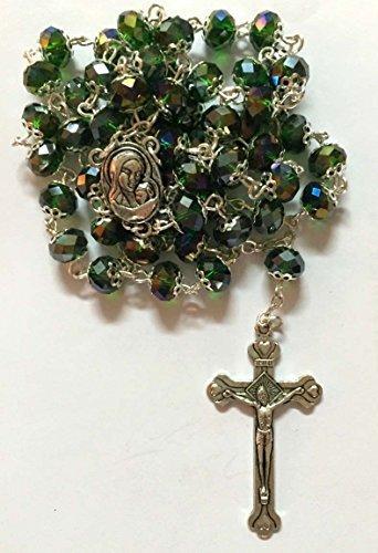 Crystal Rosary Crucifix - 5