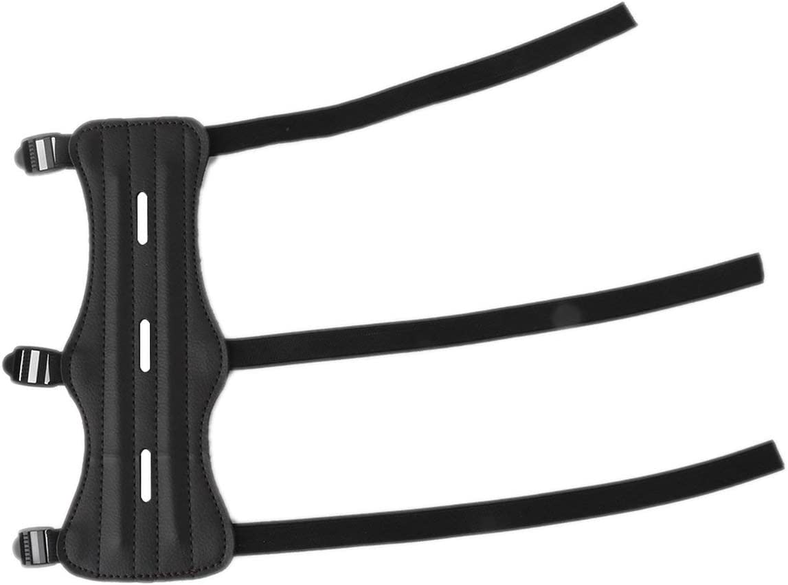 Ballylelly Schie/ßen Bogenschie/ßen Pfeil Kuh Leder 3 Riemen Schie/ßen Ziel Bogenschie/ßen Armschutz Schutz Sicherer Riemen Armband