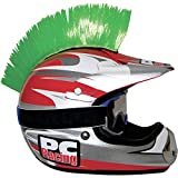 PC Racing Helmet Mohawk, Color Green PCHMGREEN