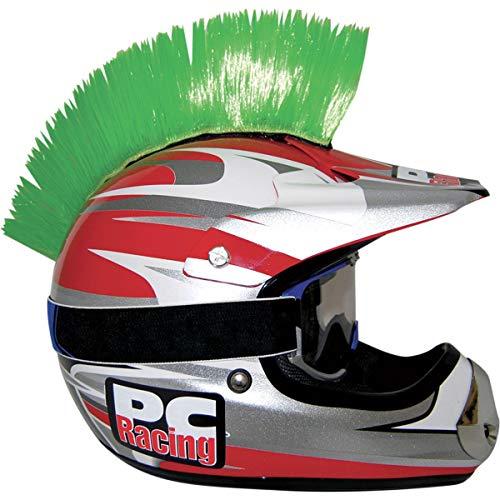 - PC Racing Helmet Mohawk , Color: Green PCHMGREEN