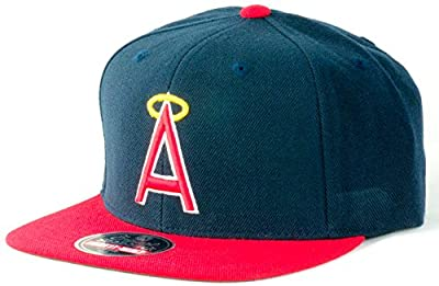 Los Angeles Angels of Anaheim MLB 1973 Cooperstown 400 Series Adjustable Cap - Navy