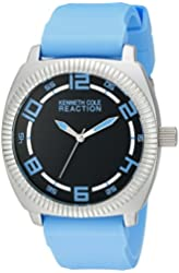 Kenneth Cole REACTION Unisex 10014705 Street Analog Display Japanese Quartz Blue Watch