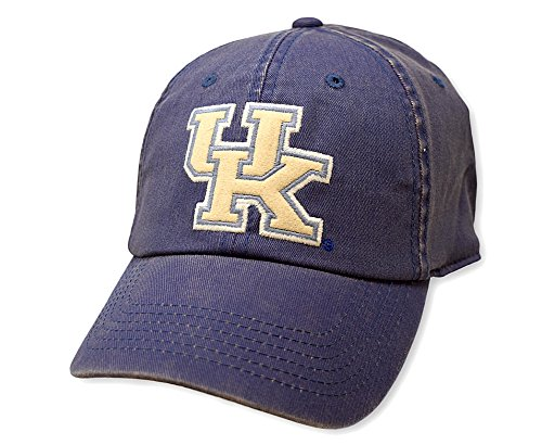rsity of Kentucky Wildcats Fitted Icon Blue Hat (Kentucky Wildcats Fan)