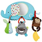 Skip Hop Baby Alphabet Zoo Stroller Bar Activity Toy, Multi