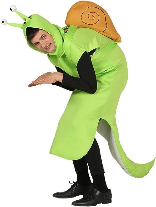 Fancy Me Disfraz de Caracol Verde para Hombre y Mujer, Ideal para ...