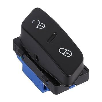 car door lock button. Qiilu Front Left Side Car Door Lock Switch Cental Locking Button 1K0 962 125 Car Door Lock Button