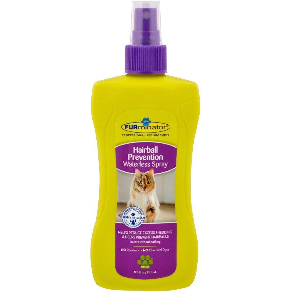 Furminator Hairball Prevención Botellas de Spray para Gatos ...