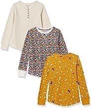 Amazon Essentials Girls Girls Long-Sleeve Knit Thermals