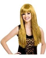 Glitzy Glam Gold Blonde Adult Costume Wig