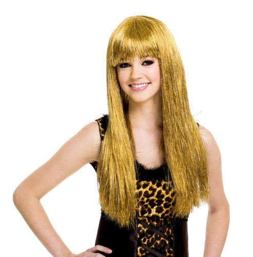 Gold Wig (Womens Gold Blonde Glamour Wig)