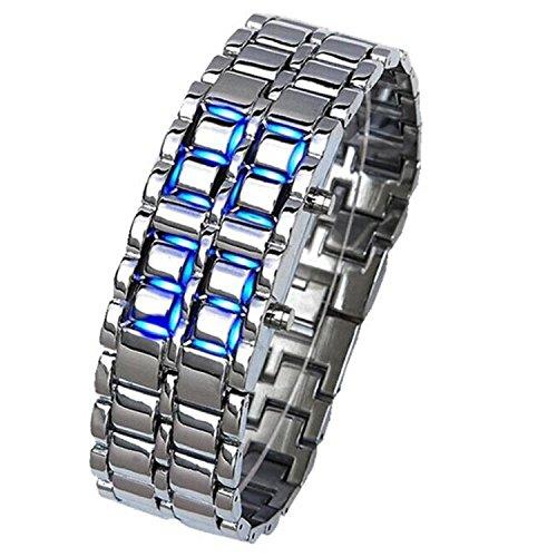 CRF Tira relojes LED Lava / cadenas de reloj-1