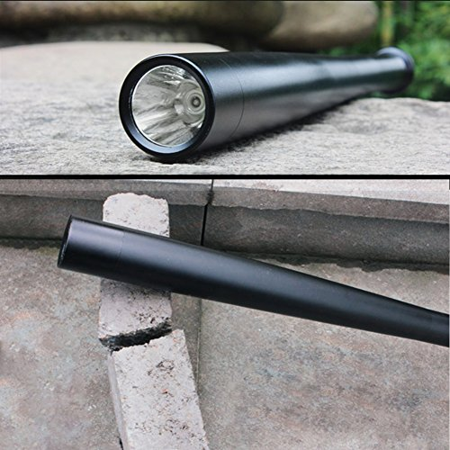 Tactical Flashlight Best Torch, Winbtek Cool Black Brightest Led Flashlight, 2000 Lumens, 3 Light Modes for Camping, Hiking, Inspection, Work, Repair and Emergency Use by Winbtek (Image #5)