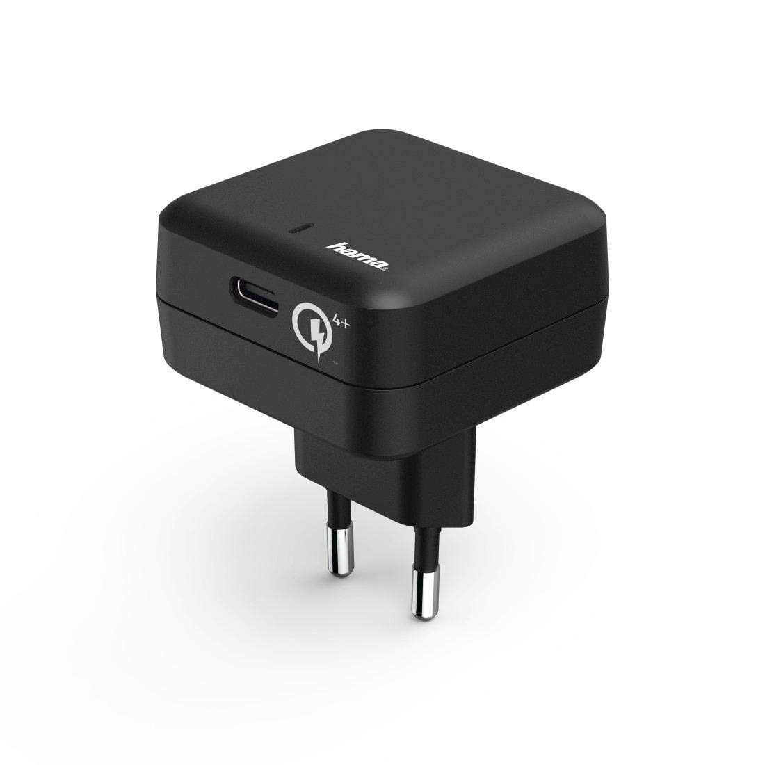 Hama Cargador rápido USB-C, Carga rápida Qualcomm 4+ (Compatible con Smartphone, móvil, Tablet, Ordenador portátil, Consola) Cargador de Corriente ...