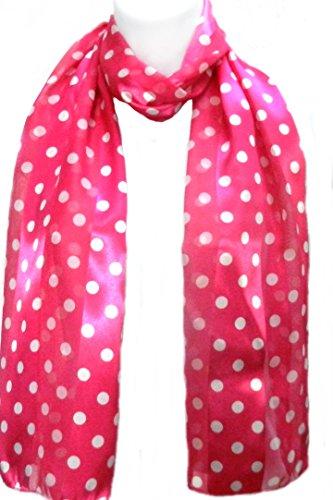 White / Pink Polka Dots - 7