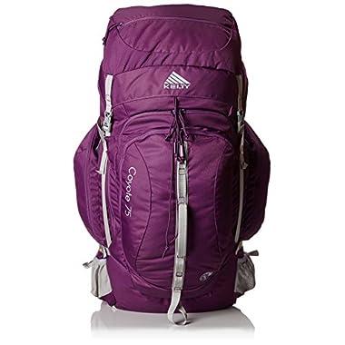 Kelty Women's Coyote 75 Backpack, Blackberry, 14.5-18.5-Inch Torso