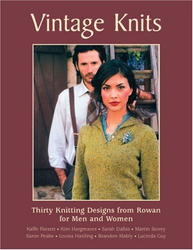 Download Vintage Knits: Thirty Knitting Designs from Rowan for Men and Women pdf