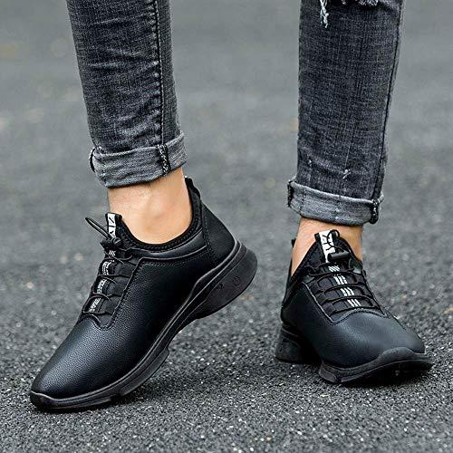 Hommes Et Mode Confortables La À Zzzz Homme Chaussures Décontractée Hiver Noir Chaussure Automne Pour qx7f6