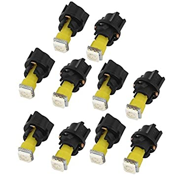 10 PC-Car T5 5050 SMD LED-lampen PC74 basis dashboard verlichting ...
