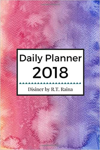 Book Daily Planner 2018