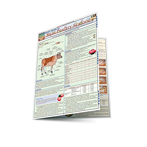 Chef'S Guide To Meat-Poultry- Seafood (Quickstudy: Home) ()