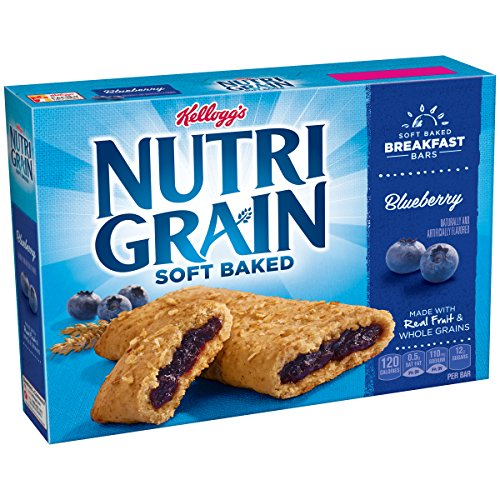 Kellogg Nutri-Grain Blueberry Cereal Bars (8 Count)