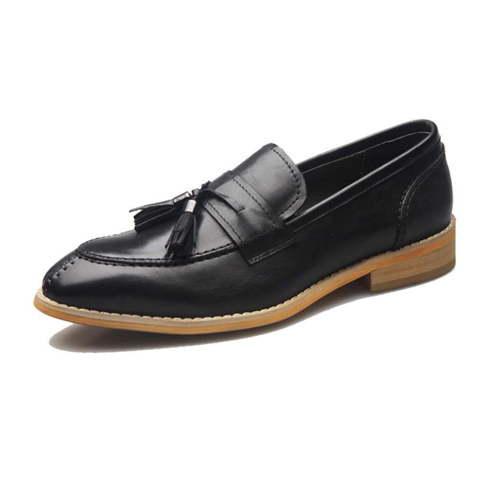 YCGCM Herrenschuhe, England, Retro, Business, Trend, Niedrige Schuhe, Bequem, Bequem, Bequem, Tragbar schwarz b948aa