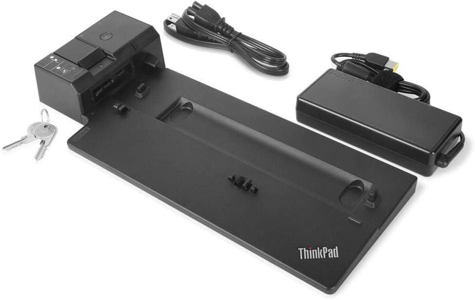 Lenovo USA ThinkPad Ultra Docking Station (P/N; 40AJ0135US ) For P52s, L580, L480, T580, P580p, T480s, T480, X1 Carbon Gen 6, X280 (Renewed)