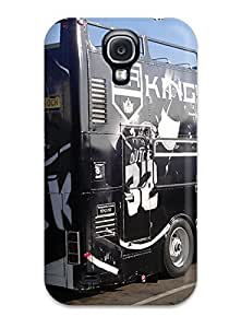 Galaxy Cover Case - Los-angeles-kings Los Angeles Kings Semi Tractor Bus Protective Case Compatibel With Galaxy S4