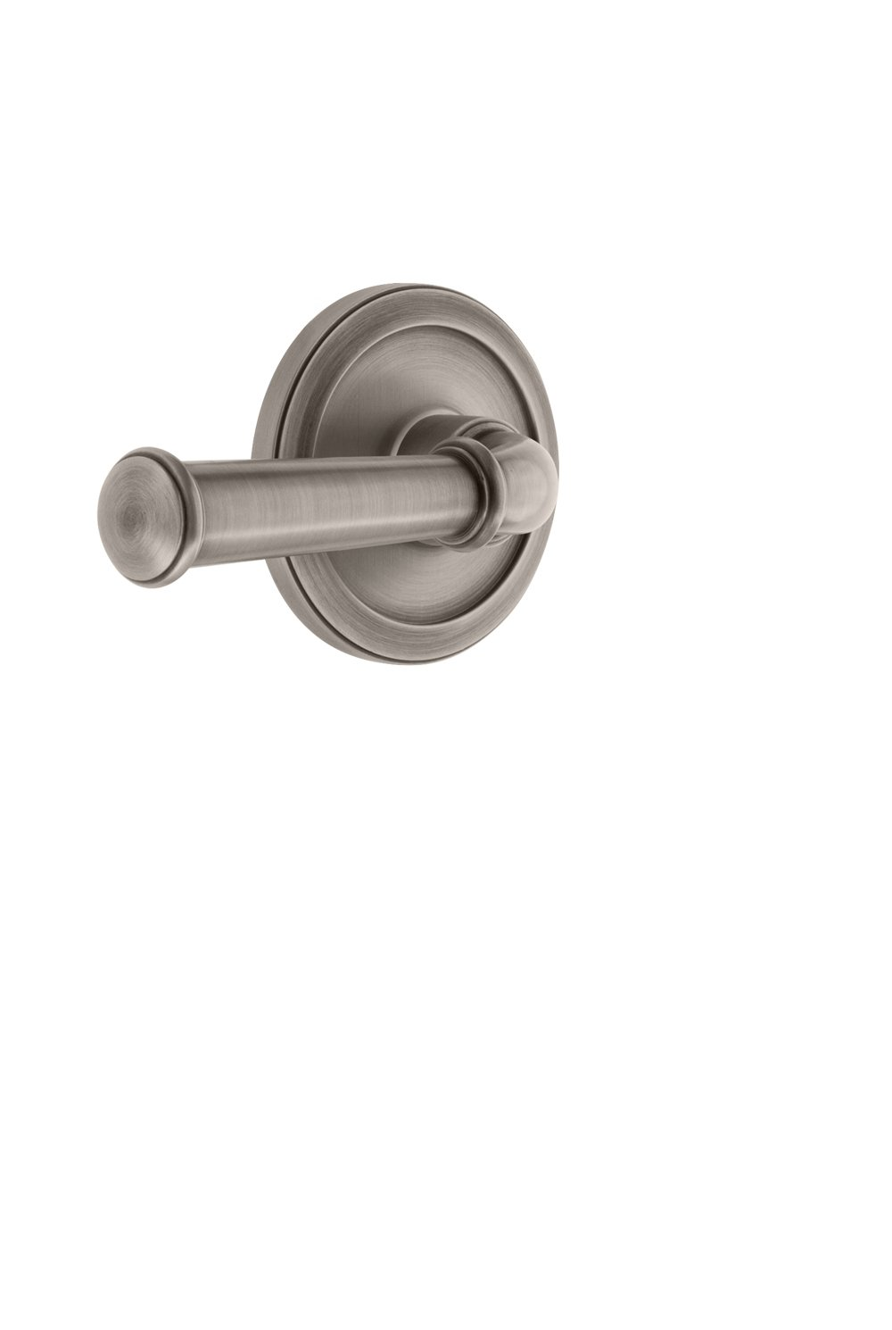 2.75 Grandeur 820017 Circulaire Rosette Passage with Georgetown Lever in Antique Pewter