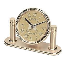 Michigan Wolverines Arcadia Desk Clock