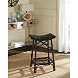 Safavieh Home Collection Amara Brown Wicker Barstool Review