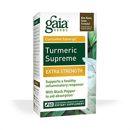 Gaia Herbs Turmeric Supreme Extra Strength Liquid Phyto-Capsules 51tZnzKnF6L