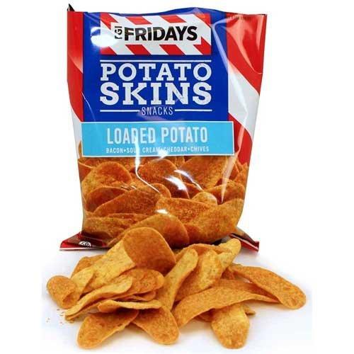 TGI Fridays Loaded Potato Skins, 3 Ounce -- 6 per case.