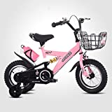 QXMEI Bicycle Children 2-3-4-6-7-8-9-10 Years Old Boys And Girls Pedal Bicycles,A(18Inches)