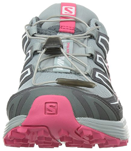 SALOMON Wings Flyte Zapatilla de Trail Running Señora Gris/Rosa