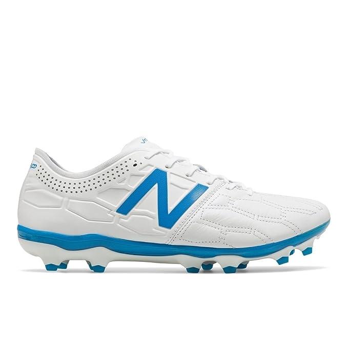 aff70fc046cc2 New Balance Visaro 2.0 K Lite FG Football Boots - White: Amazon.co ...