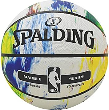 Spalding NBA Marble MC out Sz. 7 (83-636Z) Balón de Baloncesto ...