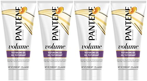 Pantene Pro-V Volume Texturizing Gel, 6.8 Ounce (Pack of 4)