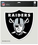 WinCraft NFL Oakland Raiders Die-Cut Color Decal, 8″x8″, Team Color