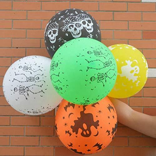 Halloween Pumpkin - Arrival 100pcs Halloween Pumpkin Head Decorative Foil Balloons Party Decoration Globos De - Birthday Cups Hats Sets Lights Half Pack Centerpieces Invitations Glow Angel -