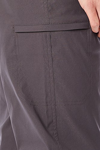 UNIONBAY Men's Rainier Lightweight Comfort Travel Tech Chino Pants, Charcoal, 36x30 by UNIONBAY (Image #4)