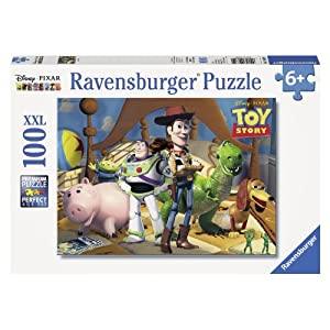 Ravensburger Disney Pixar: Toy Story 100 Piece Jigsaw Puzzle for Kids – Every Piece is Unique, Pieces Fit Together…