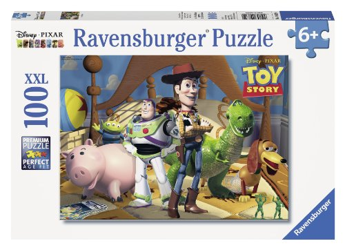 - Ravensburger Disney Pixar: Toy Story 100 Piece Jigsaw Puzzle for Kids - Every Piece is Unique, Pieces Fit Together Perfectly