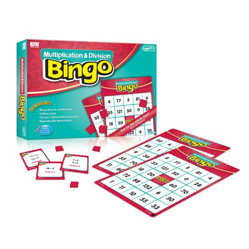 EAI Education Multiplication and Division Bingo: Grades ()