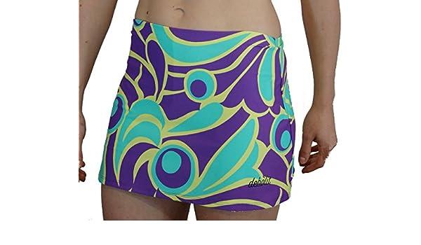 DEBOLIT - Falda Asia Tonos Violeta. Faldas de Padel/Tenis ...