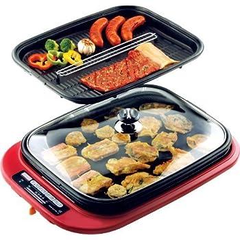 Amazon Com De Longhi Bgr50 Reversible Grill Griddle