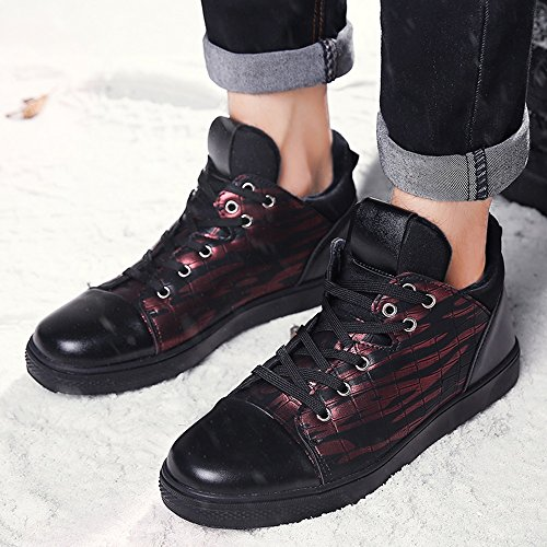 Winter Color EU39 02 5 Feifei 3 Men's UK6 Warm CN40 Shoes Plate Shoes Colors Leisure Keep Size EpvqAx