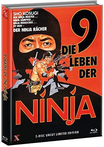 Die 9 Leben der Ninja - 9 Death of the Ninja - Uncut - Mediabook - Limited Edtion (  DVD), Cover A [Blu-ray]